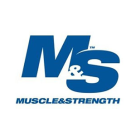 Muscle & Strength Square Logo
