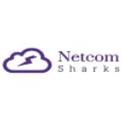 Netcom Sharks Square Logo