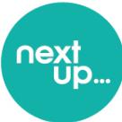 NextUp Comedy Square Logo