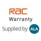 RAC warranty supplied by ALA Square Logo