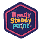 Ready Steady Paint Square Logo