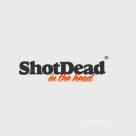 Shot Dead in the Head Square Logo