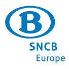 SNCB B-Europe by Train Square Logo
