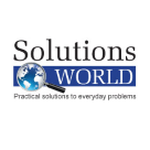 Solutions World Square Logo