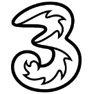 Three SIM Contracts Square Logo