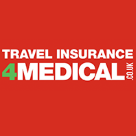 Travel Insurance 4 Medical Square Logo