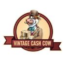 Vintage Cash Cow Square Logo