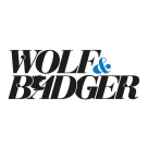Wolf and Badger Square Logo