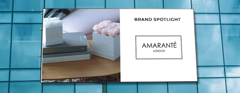 Amarante London Brand Spotlight Blog Banner
