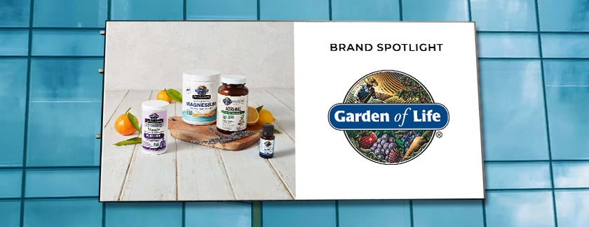 Garden of Life Brand Spotlight Blog Banner